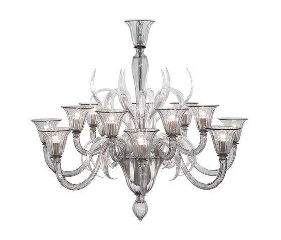 Artemis Chandelier by Baroncelli | Ceiling suspended chandeliers