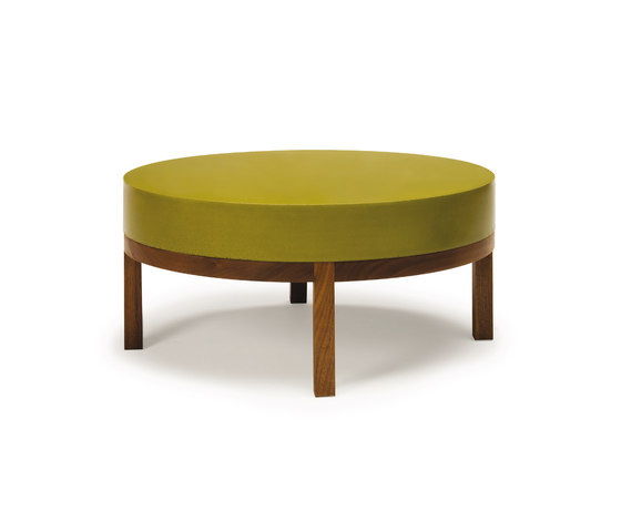 Round Thick Top Table #1 by Sandback | Coffee tables