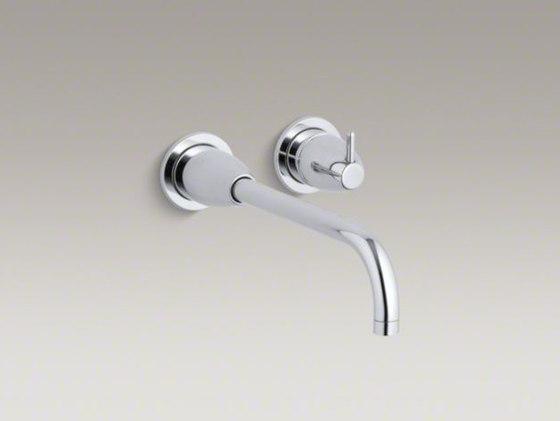 Falling Water® wall-mount bathroom sink faucet trim by Kohler   Wash-basin taps