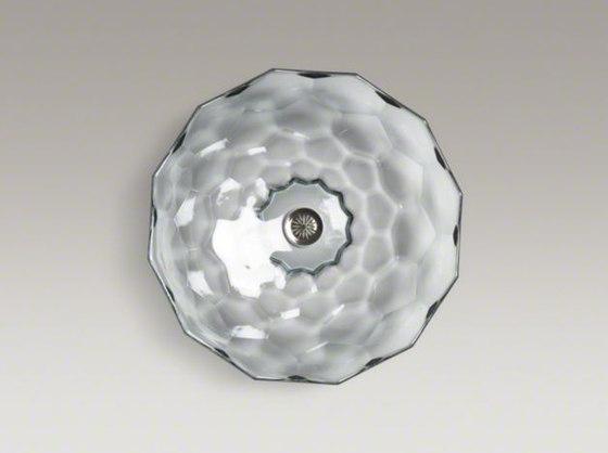 Briolette By Kohler Vessels Glass Above Counter Bathroom