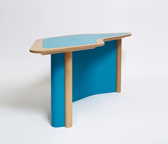 Confessional Buro Table by Karen Chekerdjian | Desks