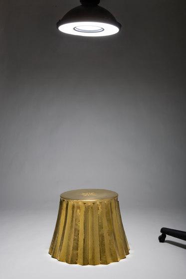 Cookie Paper stool | side table by Karen Chekerdjian | Side tables