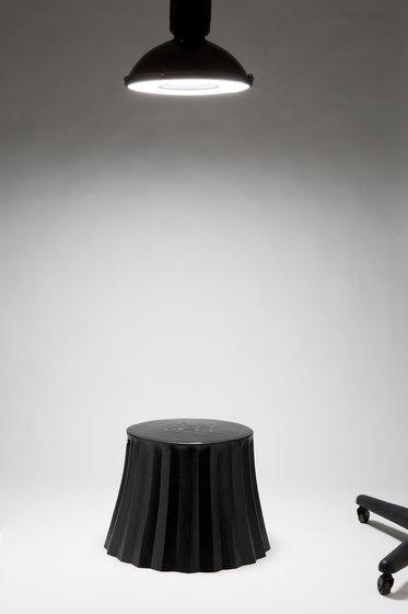 Cookie Paper Too stool | side table by Karen Chekerdjian | Poufs