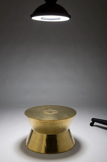Derbakeh stool | side table by Karen Chekerdjian | Side tables