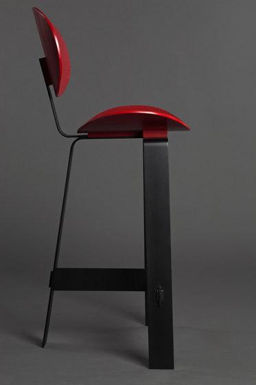Papillon high stool by Karen Chekerdjian | Counter stools