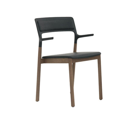 Florinda Soft with armrests by De Padova | Visitors chairs / Side chairs