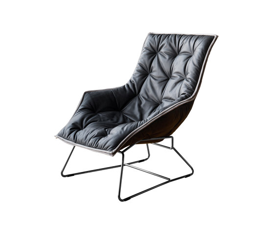 Grandtour | 897 by Zanotta | Lounge chairs