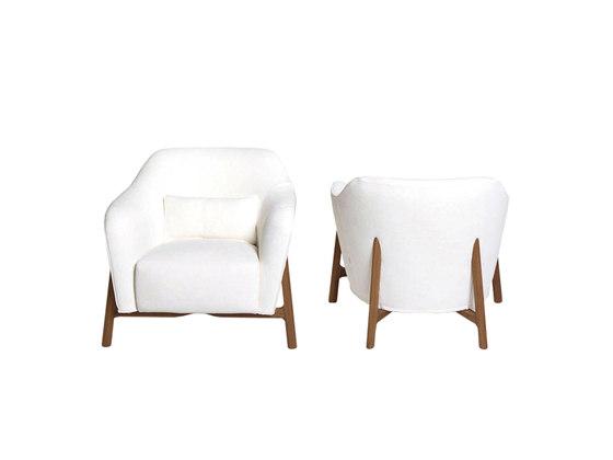 Pilotis by De Padova | Lounge chairs