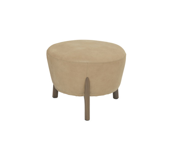 Pilotis armchair | pouf by De Padova | Lounge chairs