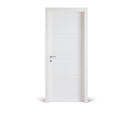 Intaglio /4 bianco by FerreroLegno | Internal doors