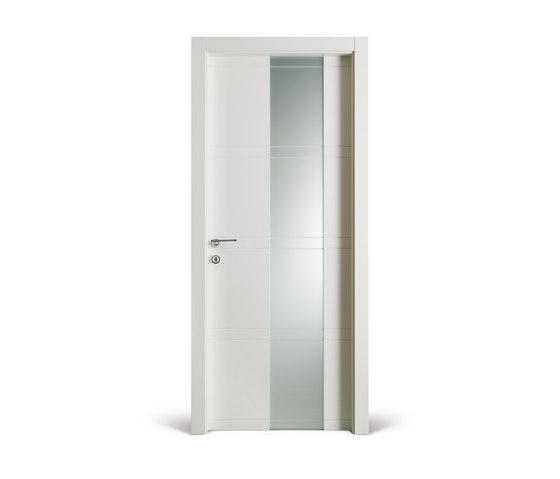 Intaglio /10 vetro  bianca by FerreroLegno   Internal doors