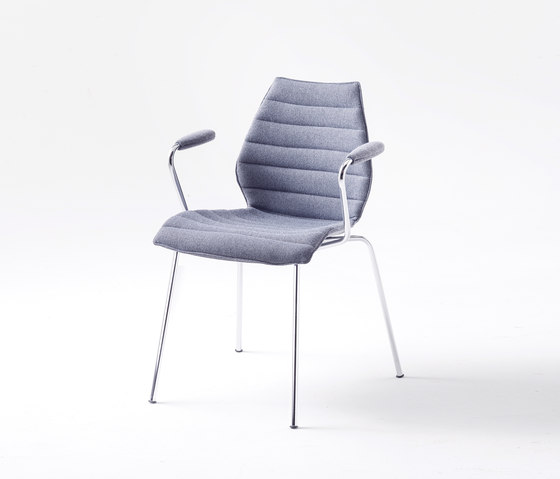Maui soft by Kartell | Visitors chairs / Side chairs