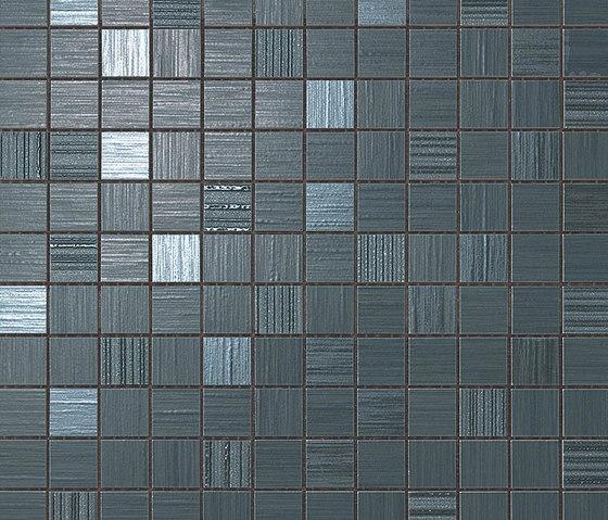 Brilliant Blue Mosaic by Atlas Concorde | Ceramic mosaics