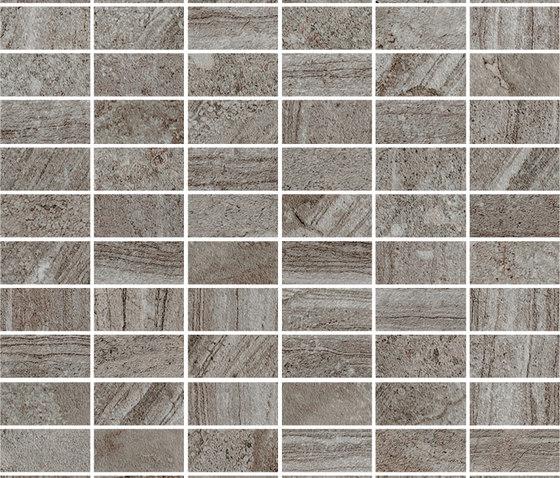 Triboo smoke mattoncino by Mirage | Mosaics