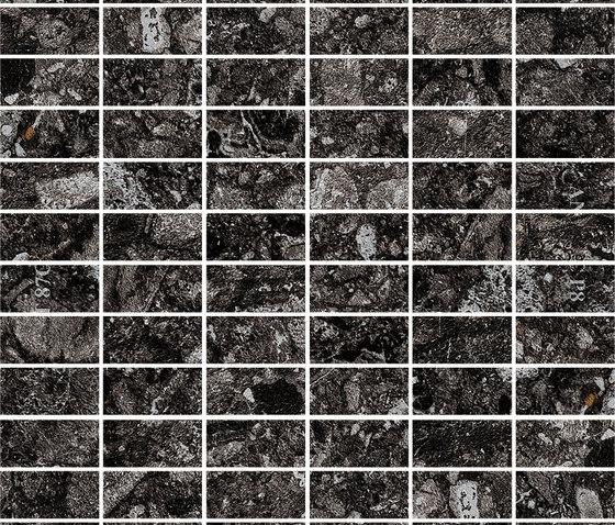 Norr Svart mattoncino di Mirage   Mosaici