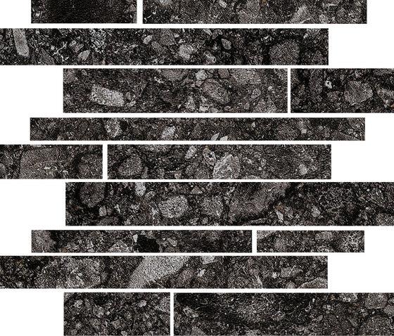 Norr Svart portnoy by Mirage | Ceramic mosaics