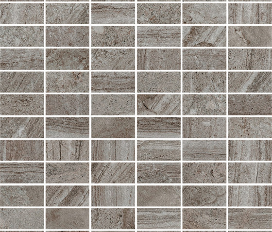 Norr Gra mattoncino by Mirage | Ceramic mosaics