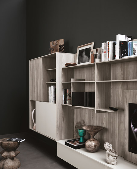 C_Day K14 | Composition 7 by Cesar Arredamenti | Wall storage systems