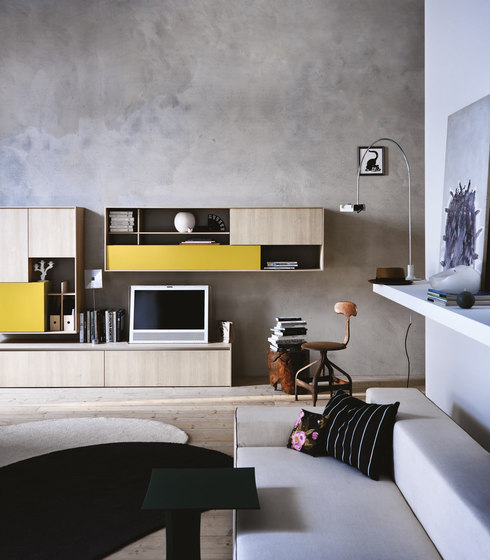 C_Day K14   Composition 8 by Cesar Arredamenti   Wall storage systems