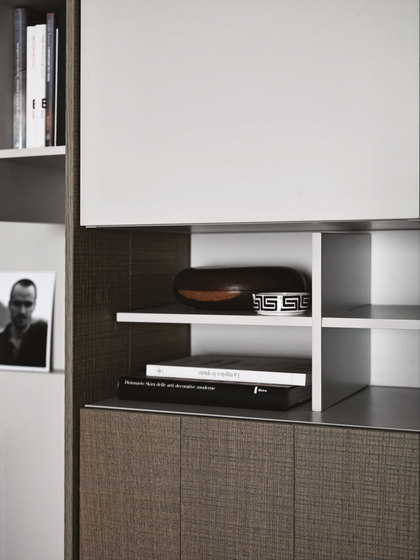 C_Day K14 | Composition 10 by Cesar Arredamenti | Wall storage systems