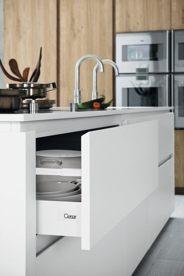 Cloe | Composition 1 by Cesar Arredamenti | Fitted kitchens