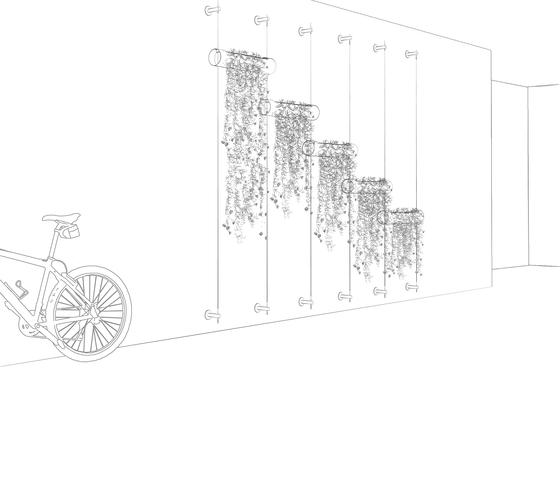Hanging Garden de Urbanature | Bacs à fleurs / Jardinières