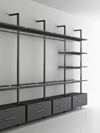 Brompton by Boffi | Wall shelves
