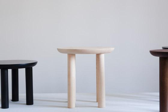 Wing high stool by Karen Chekerdjian | Ottomans
