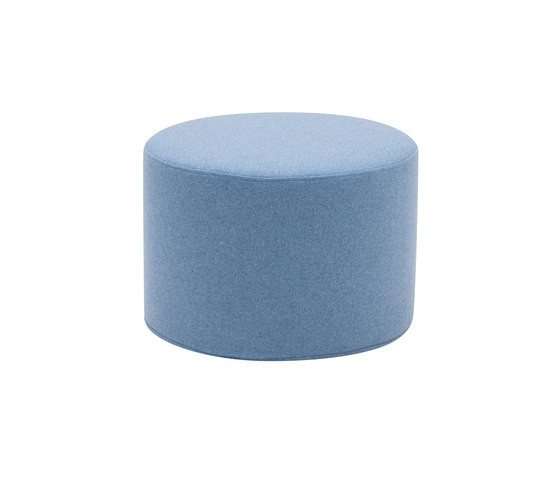Drum pouf small by Softline A/S | Poufs