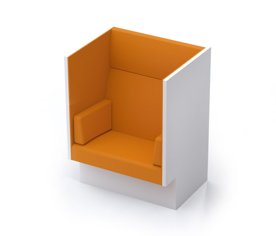 Mute armchair by Horreds | Privacy furniture