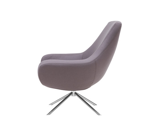 Noomi Swivel Chair by Softline A/S | Lounge chairs