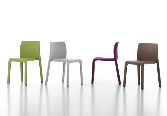 Dressed First by Magis | Visitors chairs / Side chairs