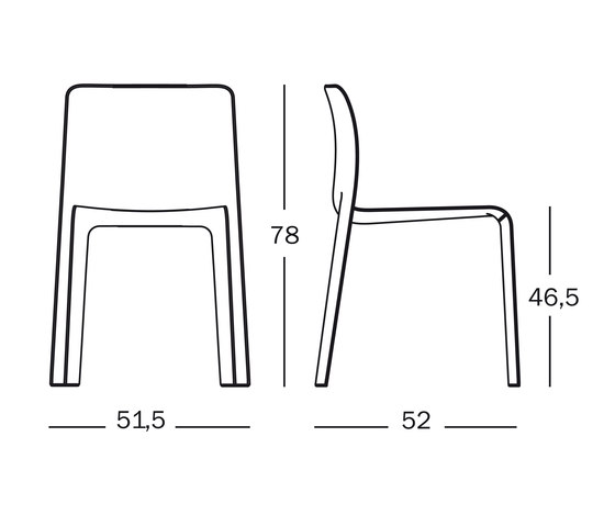 Chair First | Dressed by Magis | Visitors chairs / Side chairs