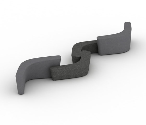 Polar Perch by Tacchini Italia | Waiting area benches
