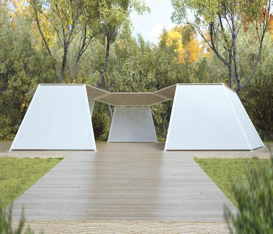 Pavilion de Paola Lenti | Voiles d'ombrage