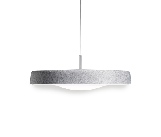 Noa 500 LED pendant by Valoa by Aurora | Pendant lights in aluminium