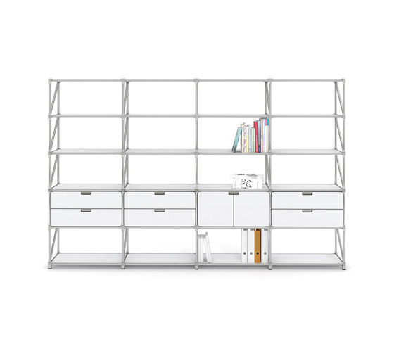 Fusion Shelf 22919 by System 180 | Office shelving systems