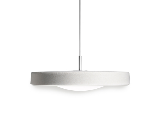 Noa 500 LED pendant by Valoa by Aurora   Pendant lights in aluminium