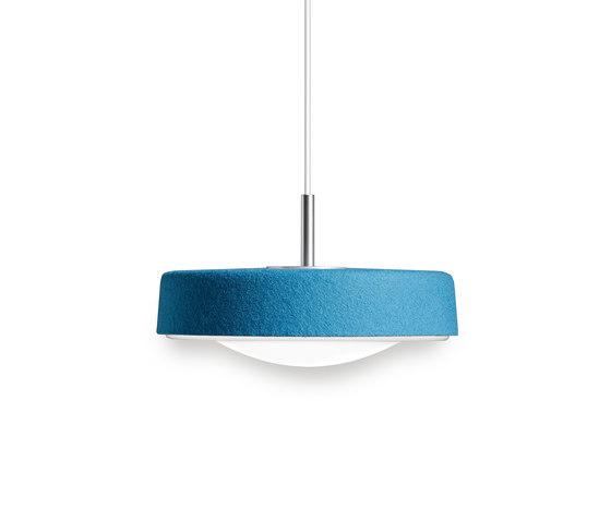 Noa 300 LED pendant de Valoa by Aurora | Matériau aluminium