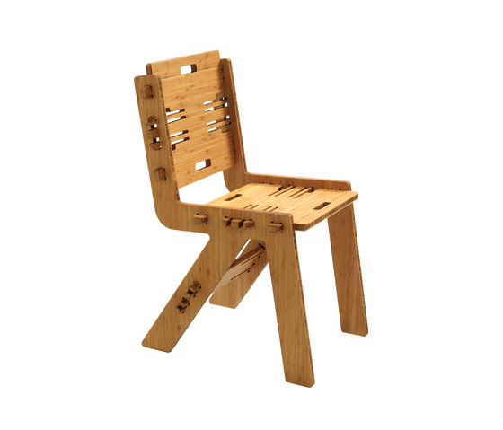 CLICDINERCHAIR bamboo by PeLiDesign | Chairs