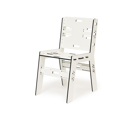 CLICDINERCHAIR TRESPA by PeLiDesign | Garden chairs