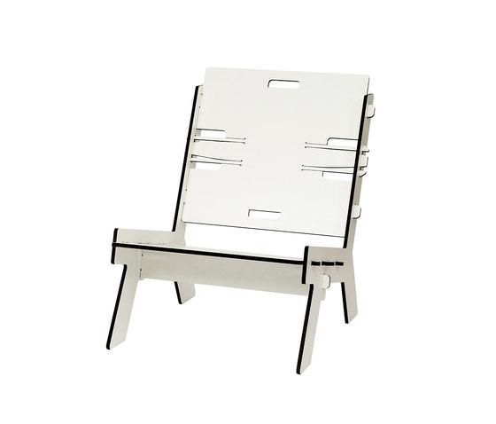 CLICLOUNGER TRESPA by PeLiDesign | Garden armchairs