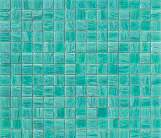 Aurore 20x20 Acquamarina de Mosaico+ | Mosaïques verre