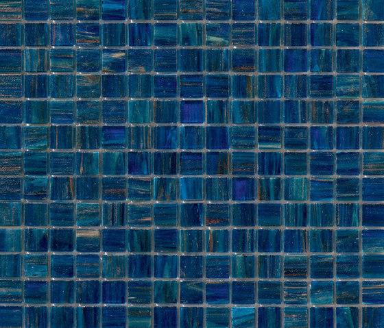 Aurore 20x20 Blu Notte de Mosaico+ | Mosaïques verre