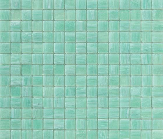 Aurore 20x20 Ciano by Mosaico+ | Glass mosaics