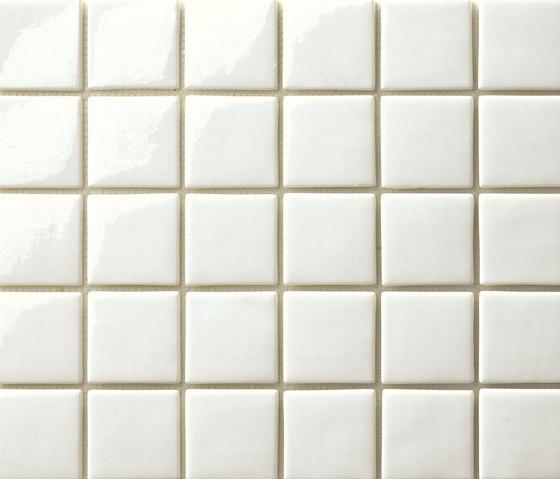 Area25 Bianco by Mosaico+ | Glass mosaics