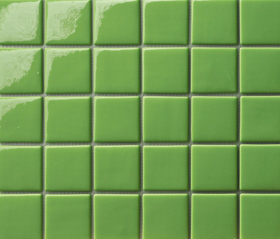 Area25 Verde Prato de Mosaico+ | Mosaïques verre