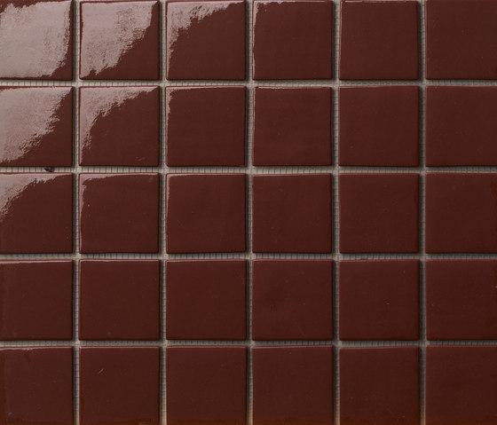 Area25 Marrone de Mosaico+ | Mosaïques verre