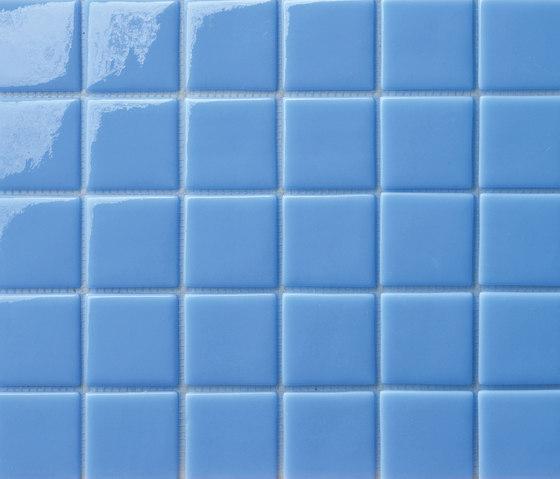 Area25 Azzurro de Mosaico+ | Mosaïques verre