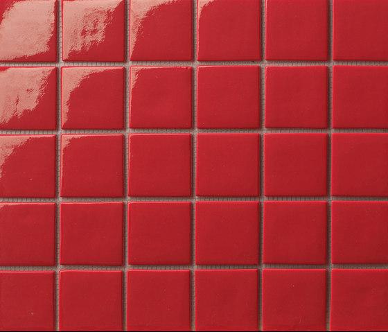 Area25 Rosso de Mosaico+ | Mosaïques verre